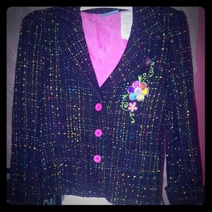 2 piece Lisa Frank Skirt Outfit